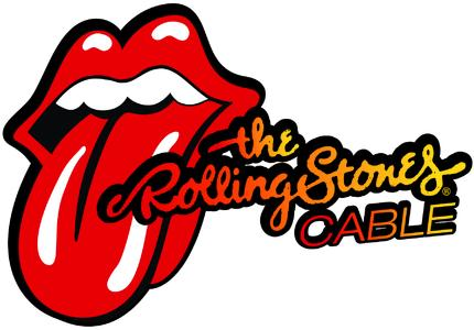 """""""the Rolling Stones CABLE"""" logo"""