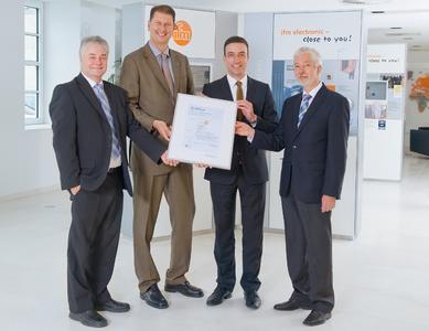 TÜV Rheinland verleiht ifm ISO 27001 Zertifikat