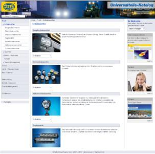 Universalteile komfortabel und schnell via Internet finden mit dem Hella Universalteile-Finder