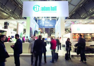 Adam Hall Group mit Weltpremieren  auf der Prolight + Sound