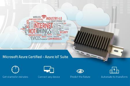 MSC Technologies zertifiziert seine Gateway-Rechner für Wind River XT IDP 3.1 und Microsoft Azure
