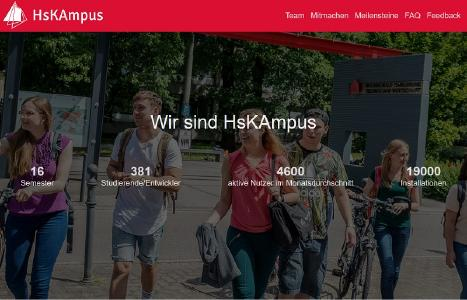 HsKAmpus Website