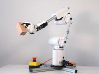 Der Mover6 bietet mit seinen sechs Freiheitsgraden dieselbe Kinematik wie ein herkömmlicher Industrieroboter