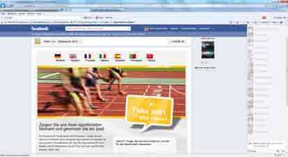 Auf der Facebook-Fanpage (www.facebook.com/oekotex) sind die Fans von OEKO-TEX® dazu aufgerufen, ihre sportlichsten Momente zu posten