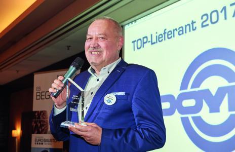 """DOYMA ist """"TOP-Lieferant 2017"""" der EUROBAUSTOFF"""