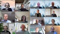 Gruppenbild des digitalen Jubiläumstreffens