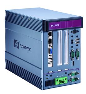 Axiomtek's IPC922-215-FL 2-slot Fanless Embedded System with Intel® Celeron® Processor J1900 (up to 2.42 GHz), PCIe & PCI Slots