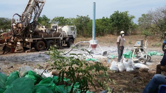 Bohrungen Lithium Birimiran, Mali