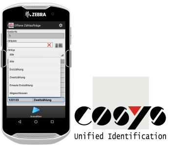 Zebra TC 51 / 56 MDE mit COSYS Software