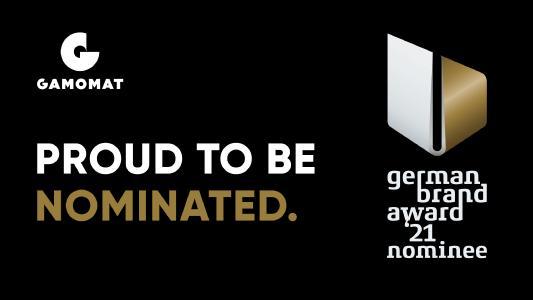 Herzblut gewinnt: GAMOMAT ist für den German Brand Award 2021 nominiert