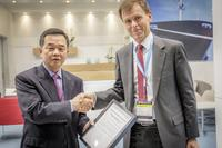 DNV GL at Nor-Shipping: Hyundai Heavy Industries receives Approval in Principle for innovative SkyBench concept for mega box ships