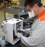 Die Serienfertigung des mobilen Beatmungsgeräts von Viessmann findet in Allendorf (Eder) statt