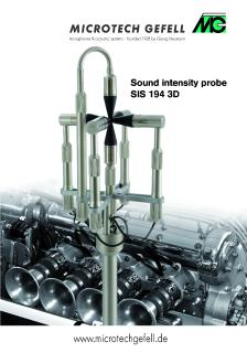 Sound intensity measurement - A revolution in acoustic measurement technology