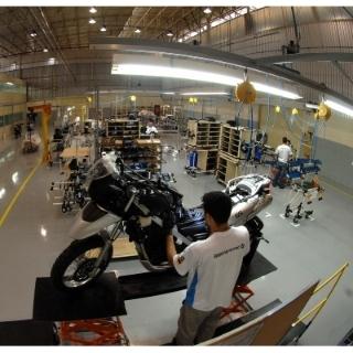 BMW Motorrad CKD-Fertigung Brasilien (12/2009)