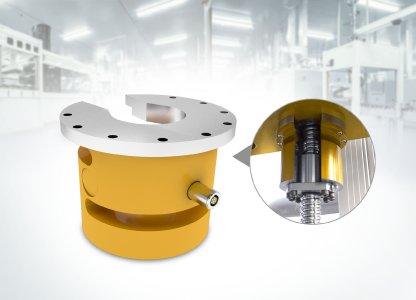Das neue patentierte Kraftaufnehmerkonzept von GTM hilft Anwendern dabei, den Kraftsensor ohne zusätzliche konstruktive Maßnahmen in ihre Bestandsanwendungen zu integrieren