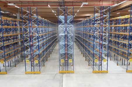Ein Blick in das neue Pharma Airfreight Hub von Pharmaserv Logistics in Groß-Gerau.