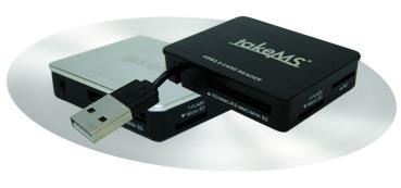Der takeMS Cardreader Portable macht mobil!