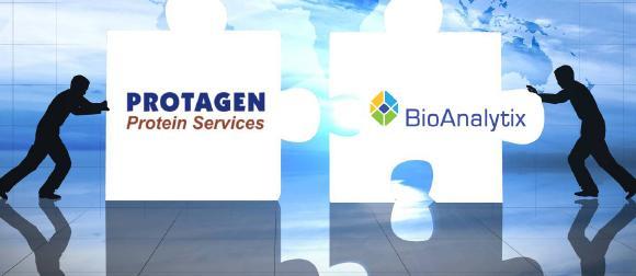 Protagen Protein Services and BioAnalytix Merge