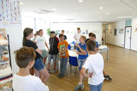 Schnappschüsse der beiden Feriencamp-Tage in Stuttgart