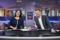 Sky Sport News HD Moderatoren Miriam Sinno & Gregor Teicher