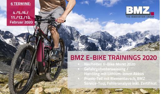 BMZ E-Bike Trainings 2020 - Fit in die neue Saison
