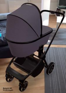 Beispiel Sideboard AR: Kinderwagen