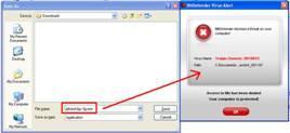 BitDefender Scan entdeckt Trojan.Generic.3010D833