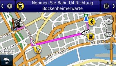 Fußgängernavigation