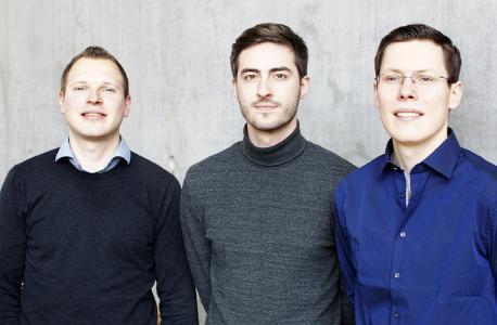 """Die Gründer von """"PerfAccT"""" machen Computersimulationen schneller / Foto: Tilo Bergemann/Potsdam Transfer"""