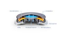 FST DIAVent closed / Copyright: Freudenberg Sealing Technologies 2020