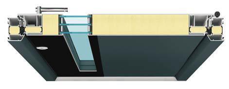 foradur made by puren ist eine Entwicklung für die speziellen Anforderungen der Haustürproduktion / Abbildung: puren