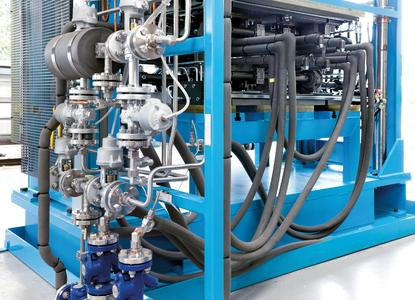 Perfect insulation of complex ducting and piping systems: L'ISOLANTE K-FLEX will now sell the Conti Thermo-Protect insulation system (Photo: ContiTech)