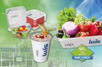 Environmentally friendly solutions from ILLIG – over 50% less plastic with I-PACK®.
