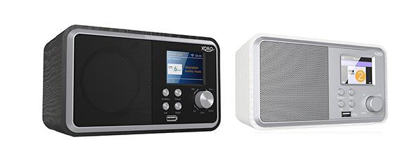 XORO HMT 300 - WLAN Internet Radio mit Bluetooth