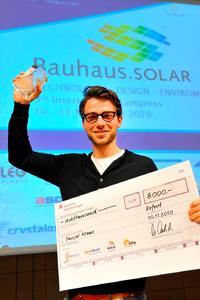 International Bauhaus.SOLAR AWARD 2010 Young Talent Award goes to Münster (Germany)