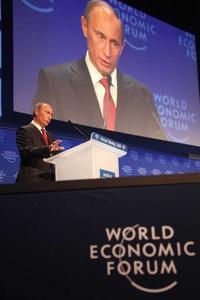 Wladimir Putin beweist wirtschaftliche Kompetenz (Foto: World Economic Forum/Flickr.com)