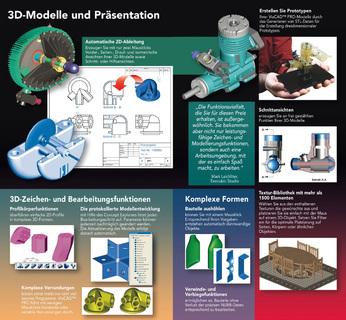 3D-Modelle und Präsentation
