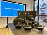 Umfangreicher Gerätepark an neuen HoloLens 2-Geräten bei medialesson
