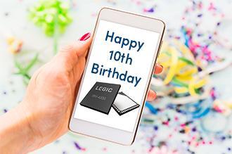 Wir feiern 10 Jahre LEGIC SM-4200 mit neuen Funktionen: Mobile Konnektivität und verbesserte Smartcard Sicherheit