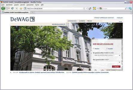 Startseite dewag.de