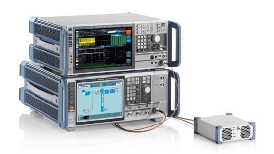 Midrange RF test with best-in-class characteristics, ideal for testing advanced 5G NR devices. (Image: Rohde & Schwarz)
