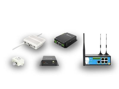 Industrielle Mobilfunk-Router, Gateways und Remote I/O Module