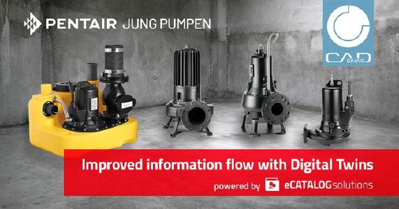 Pentair Jung Pumpen simplifies information exchange with architects and planners thanks to digital twins