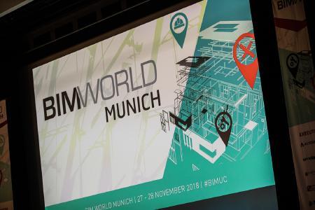 Die BIM World ist die führende Fachmesse für BIM-Lösungen, IT-Anwendungen und IoT-Technologien. (Bild: BIM World MUNICH)