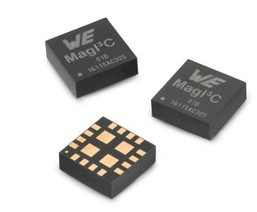 MagI³C VDRM im kompakten LGA-16EP-Gehäuse / Bildquelle: Würth Elektronik eiSos