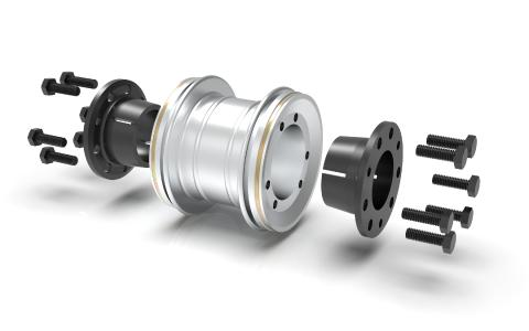 Use of torsionally rigid metal bellows couplings in Special high-speed test benchs