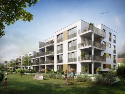 Mynido bei München: Mehrfamilienhäuser und Geschosswohnungen mit umfangreicher digitaler Ausstattung.