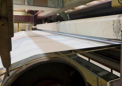 Sorgt für höchste Effizienz in der Papierproduktion: Inspektionssystem an Papiermaschine PM10