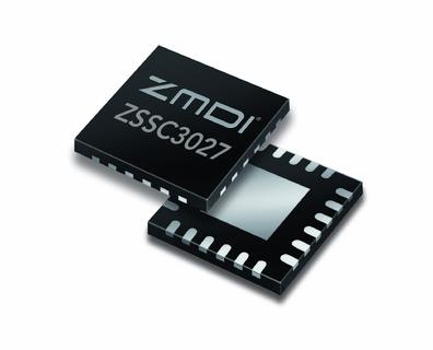 ZMDI Launches the ZSSC3027, a New Energy-Efficient, High-Precision 16-Bit Sensor Signal Conditioner Optimized for Stacked Die Assembly for Miniaturized MEMS-Based Sensors
