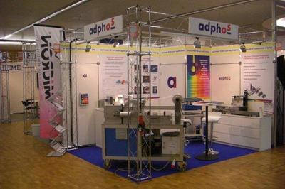 adphosNIR® photonic drying and curing fascinates the visitors at LOPE-C exhibition with its easy adaptability in PE manufacturing processes and low investment cost